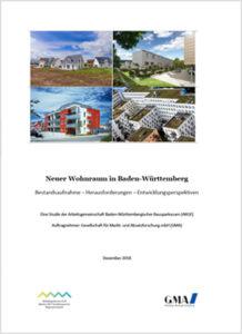 """STUDIE """"NEUER WOHNRAUM IN BADEN-WÜRTTEMBERG"""""""